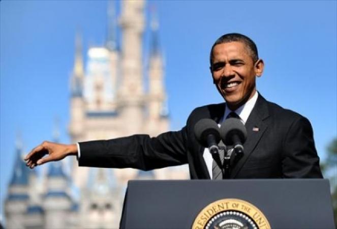 أوباما: يسرني لقاء زعيم عالمي له أذنان